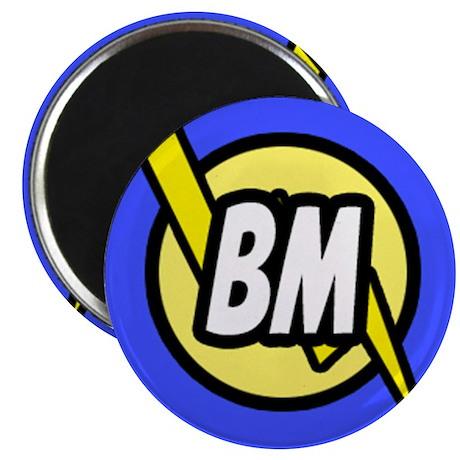 """Blue Best Man Button 2.25"""" Magnet (100 pack)"""