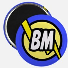 "Blue Best Man Button 2.25"" Magnet (10 pack)"