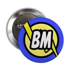 "Blue Best Man Button 2.25"" Button"