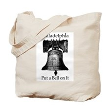 Philadelphia - Put a Bell on It Tote Bag