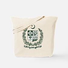 Pakistan Coat Of Arms Tote Bag