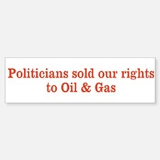 Sold our rights Bumper Stickers