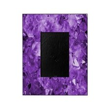 Amethyst crystals Picture Frame