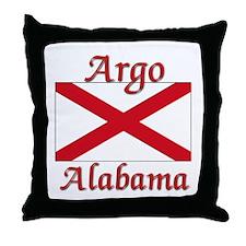 Argo Alabama Throw Pillow