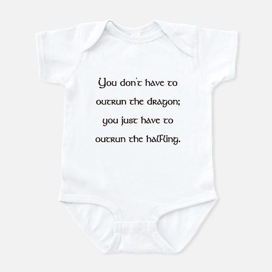 Outrun The Dragon Infant Bodysuit