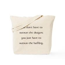 Outrun The Dragon Tote Bag