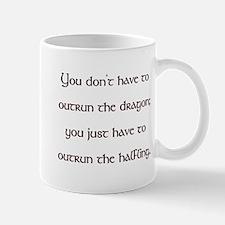 Outrun The Dragon Mug