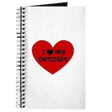 I Love My Dentist Heart Journal