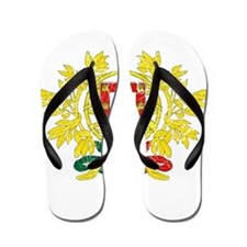 Portugal Coat Of Arms Flip Flops