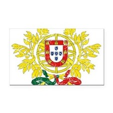 Portugal Coat Of Arms Rectangle Car Magnet