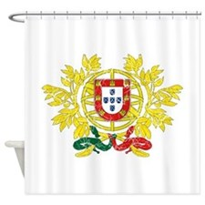 Portugal Coat Of Arms Shower Curtain