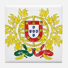 Portugal Coat Of Arms Tile Coaster