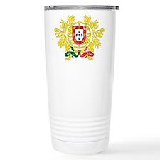 Portugal Coat Of Arms Travel Mug