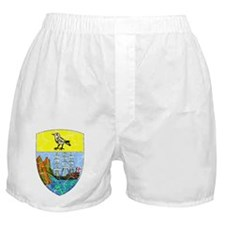 Saint Helena Coat Of Arms Boxer Shorts