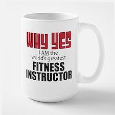 Fitness Instructor Mugs