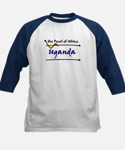 Pearl of Africa Kids Baseball Jersey