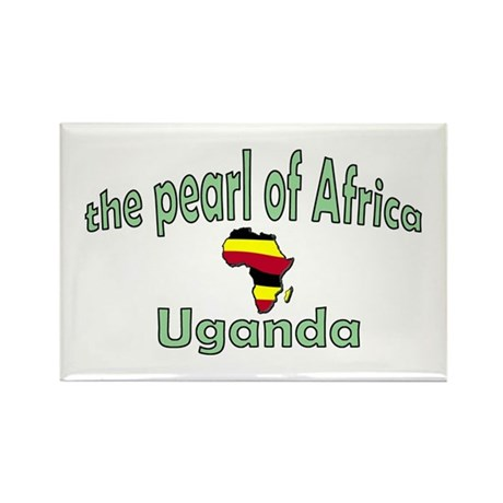 Pearl of Africa Rectangle Magnet (100 pack)