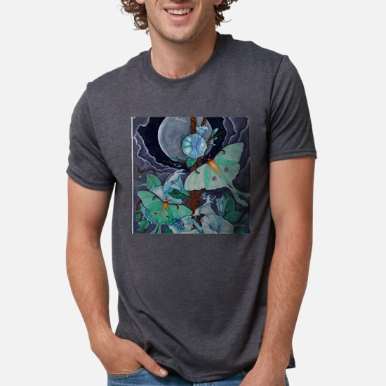 Vida de la Luna  Mens Tri-blend T-Shirt