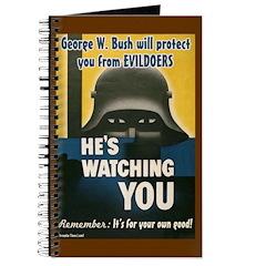 Bush Big Brother Spy Journal