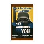 George Bush is Watching You Sticker