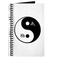 Journal taichi and yinyang symbol