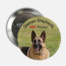 German Shepherd Therapy Button