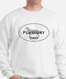 Flat-Coated Retriever DAD Sweatshirt