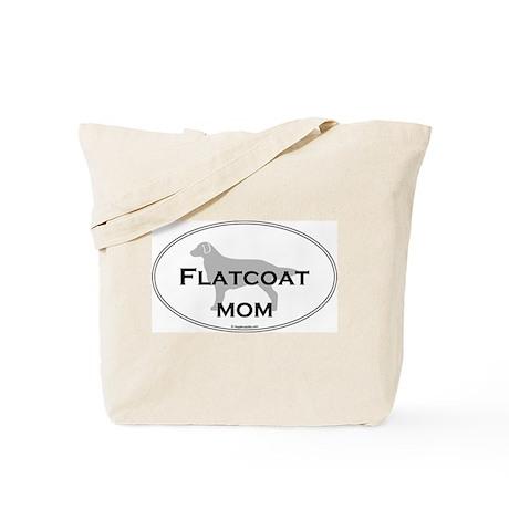 Flat-Coated Retriever MOM Tote Bag