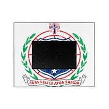 Samoa Coat Of Arms Picture Frame