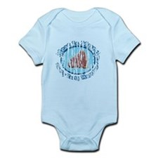 Distressed Meat is Murder shirt 2.png Infant Bodys