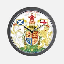 Scotland Coat Of Arms Wall Clock