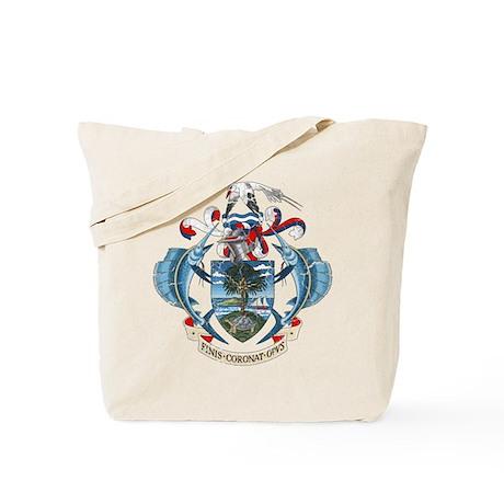 Seychelles Coat Of Arms Tote Bag