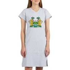 Sierra Leone Coat Of Arms Women's Nightshirt