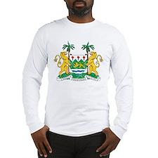 Sierra Leone Coat Of Arms Long Sleeve T-Shirt