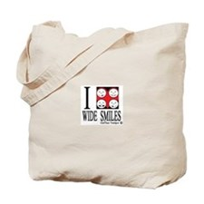 I heart wide smiles Tote Bag