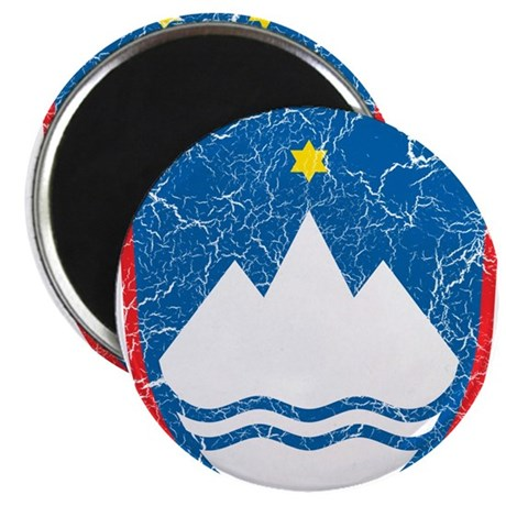 """Slovenia Coat Of Arms 2.25"""" Magnet (10 pack)"""