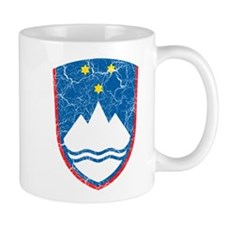 Slovenia Coat Of Arms Mug