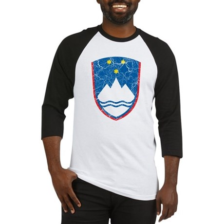 Slovenia Coat Of Arms Baseball Jersey