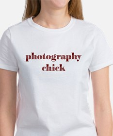 Photography Chick Women's T-Shirt