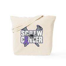 Screw Hodgkins Cancer Tote Bag