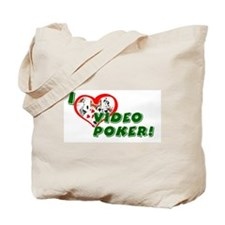 Video Poker Tote Bag