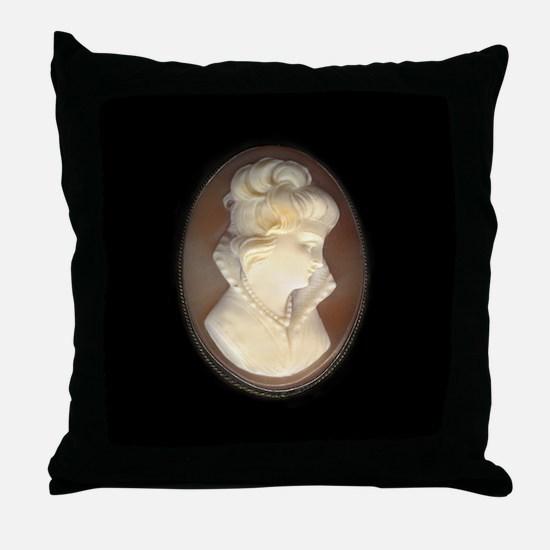 Brooch600med.jpg Throw Pillow