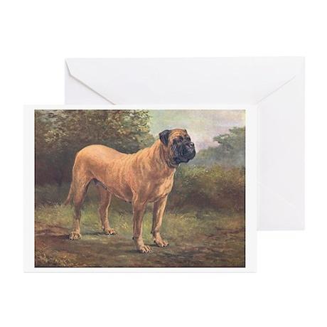 Redworth Mastiff Greeting Cards