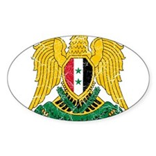 Syria Coat Of Arms Decal