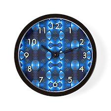 Southwest Elements Wall Clock - Blue