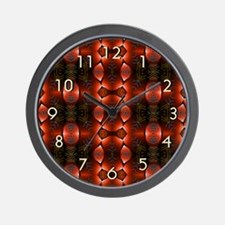 Southwest Elements Wall Clock - Red