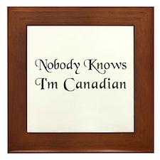 The Canadian Framed Tile