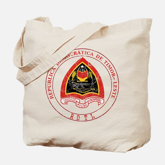Timor Leste Coat Of Arms Tote Bag