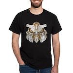 Native American Swan Mandala Dark T-Shirt