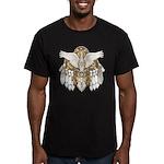 Native American Swan Mandala Men's Fitted T-Shirt